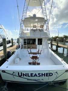Unleashed - 55 foot Convertible Viking | Captain J Fishing Charter | Tavernier & Islamorada
