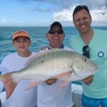 Dave and a big mutton snapper | Captain J Fishing Charter | Tavernier & Islamorada